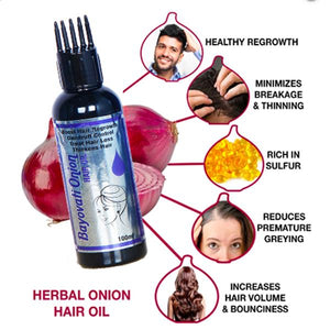 Bayowati Onion Hair Oil 100 ml For Hair growth