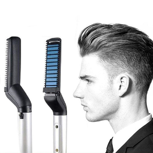 Hair Styler Electric Hair Comb For Men Women Beard Straightener Comb For Men