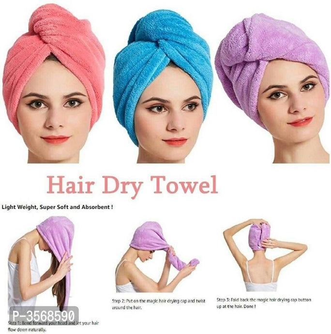Dry Towel to Dry Your Hair Quickly