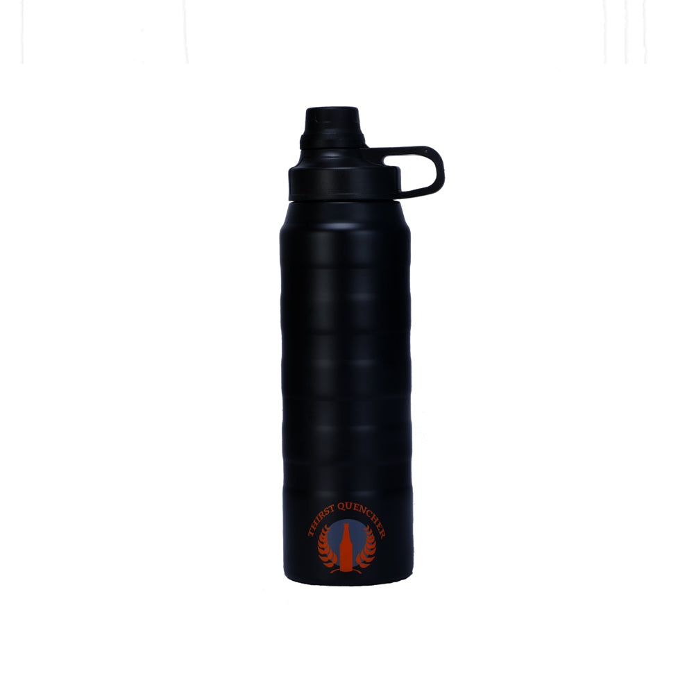 Water Bottle Thermosteel 900ml Black