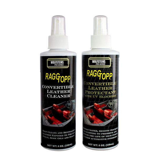 RAGGTOPP Convertible Leather Cleaner & Protectant Kit