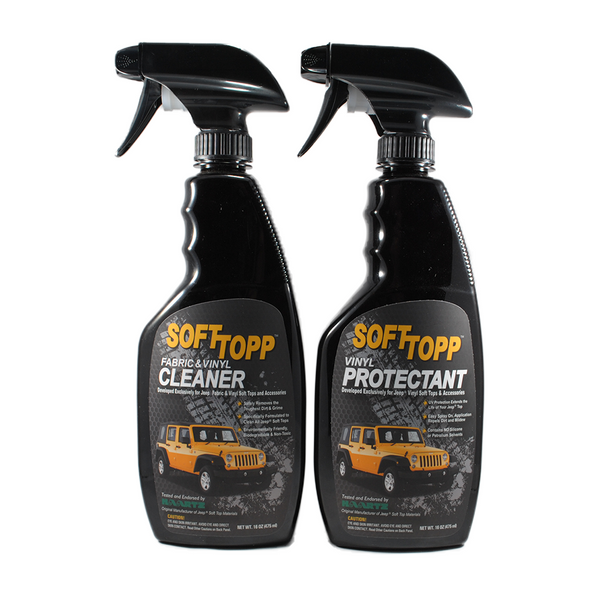 SOFTTOPP Jeep Vinyl Top Cleaner & Protectant Kit