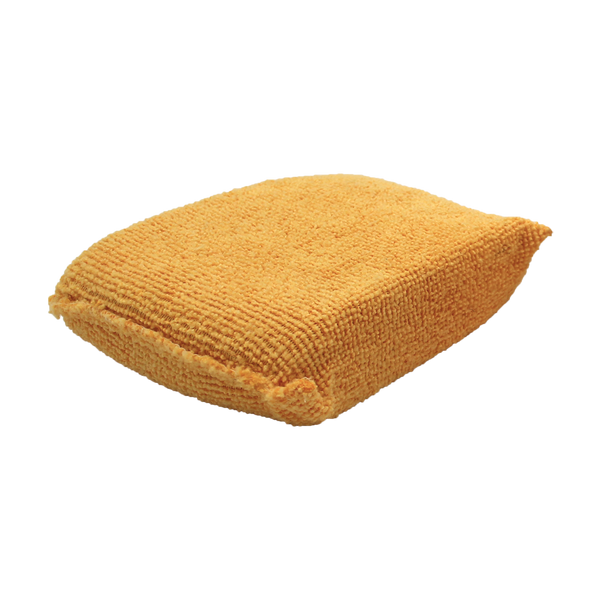 Premium Orange Microfiber Applicator Pad