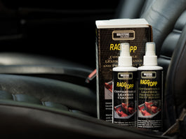 RAGGTOPP Leather Cleaner & Protectant Kit with Leather Interior Cleaning Brush