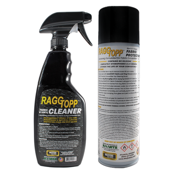RAGGTOPP Convertible Top Fabric Cleaner & Protectant Kit