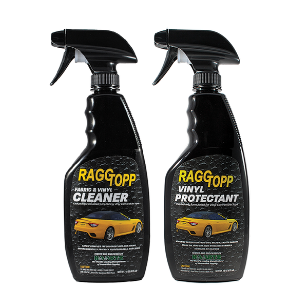 RAGGTOPP Convertible Top Vinyl Cleaner & Protectant Kit