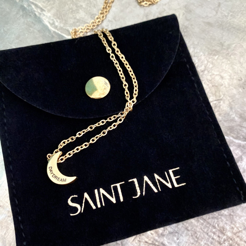 Over The Moon Necklace Saint Jane Beauty