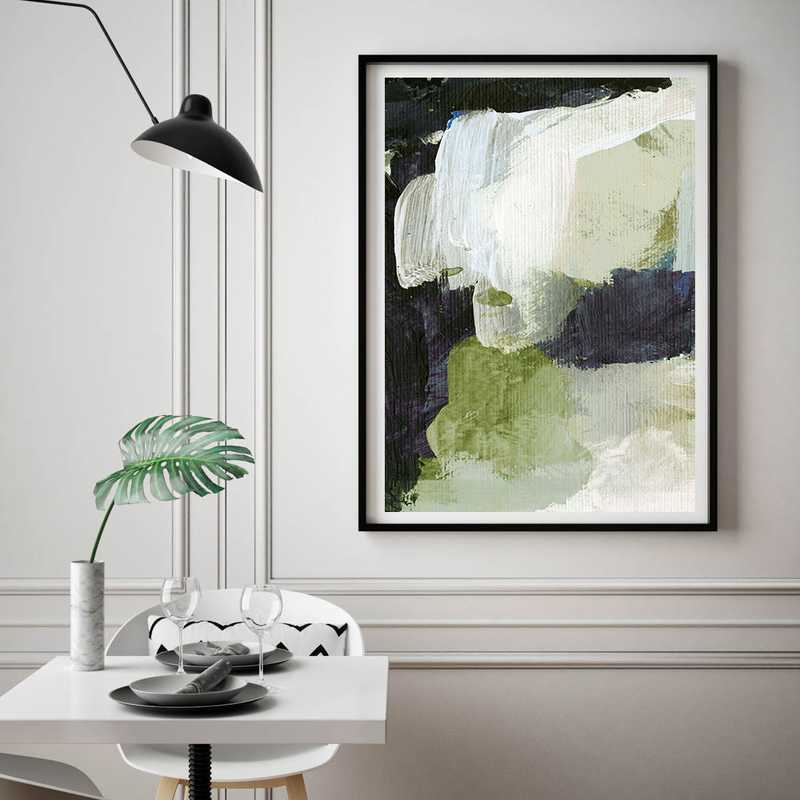 Green No.I Art Print