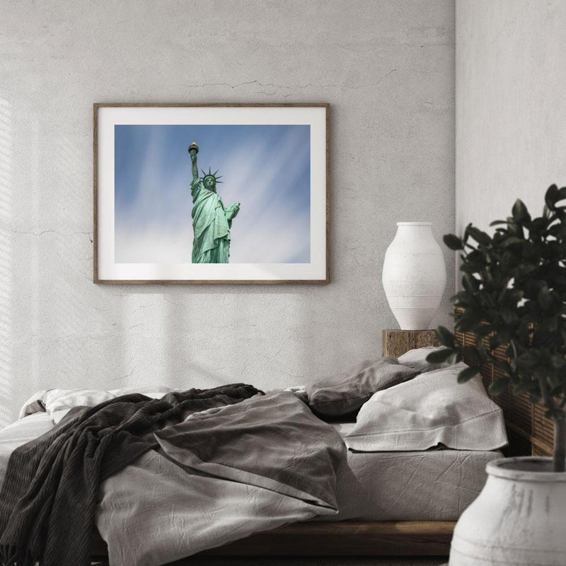 100 Seconds of Liberty Art Print