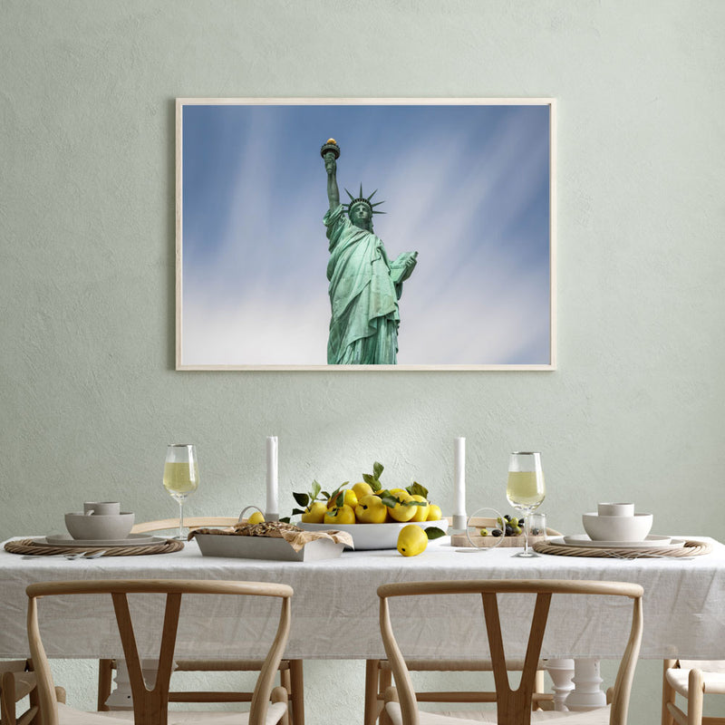 100 Seconds of Liberty Art Print-Harry Sinclair-MINUS ART