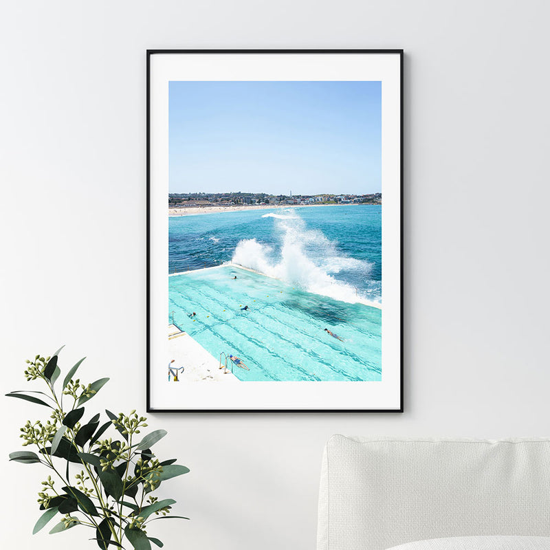 Bondi Splash Art Print