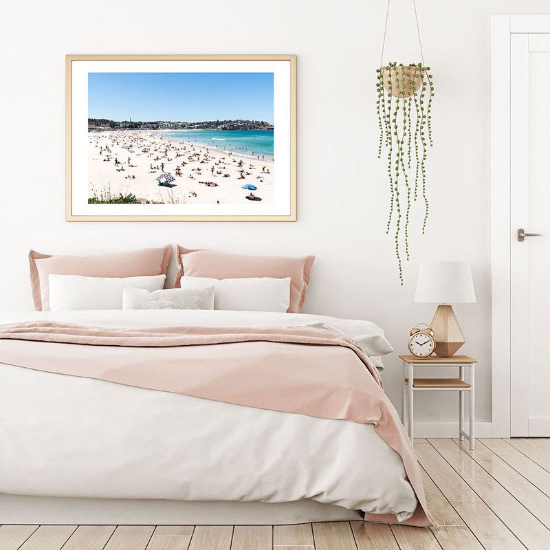 Bondi Summer Art Print