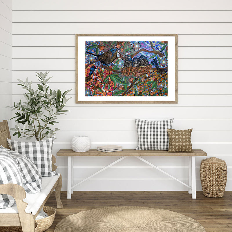 6 Seasons Dreaming Art Print