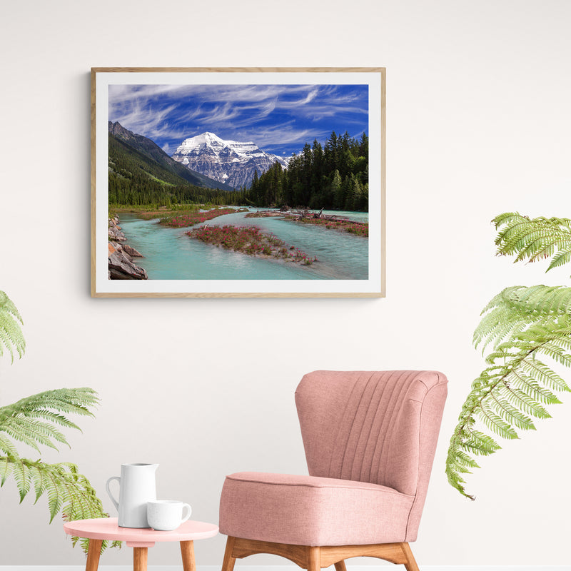 Robson Royal Art Print