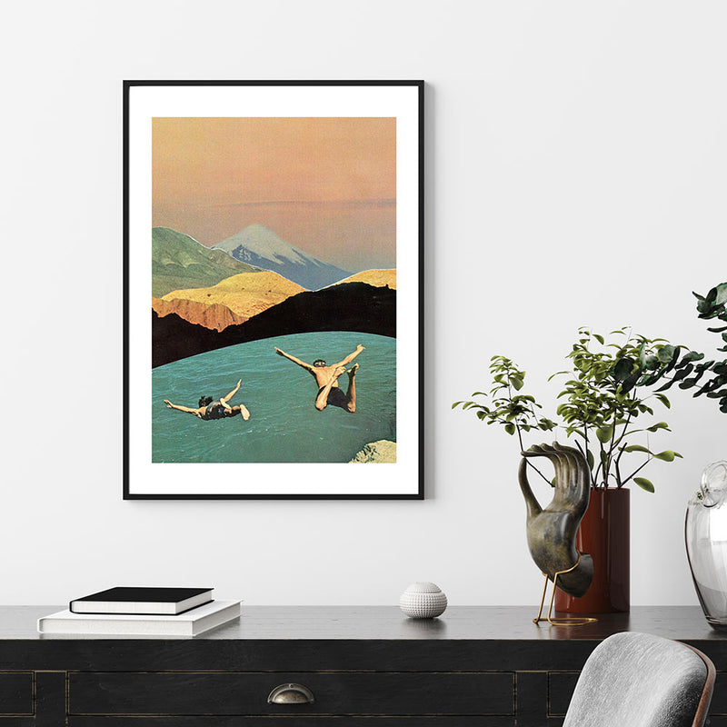 Last Memories of Summer Art Print