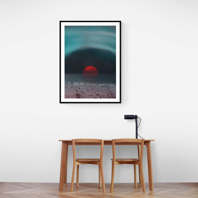 Comfort Crowd Art Print