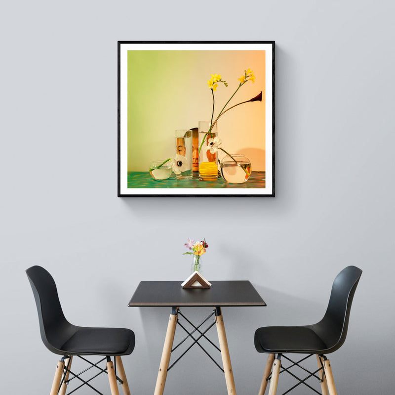 Three Monkeys Art Print