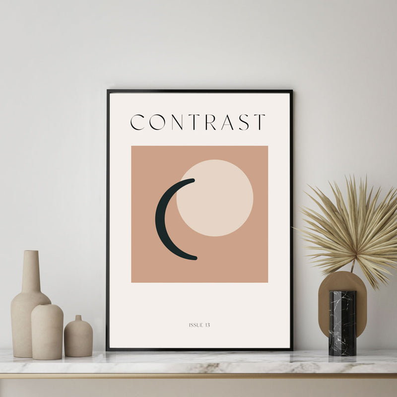 Contrast Issue 13 Art Print