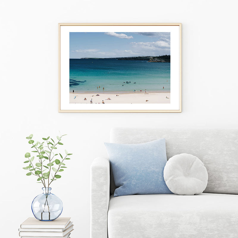 Bondi Lake Art Print