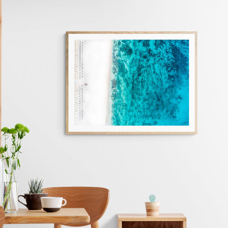 Boa Vista Beach Art Print