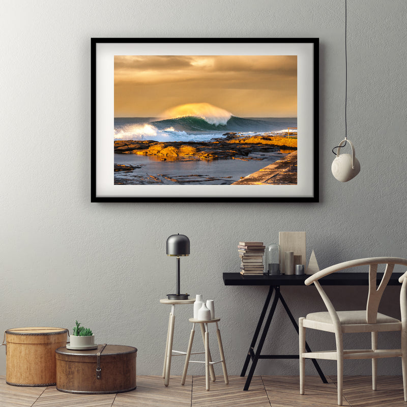 Offshore Perfection Art Print
