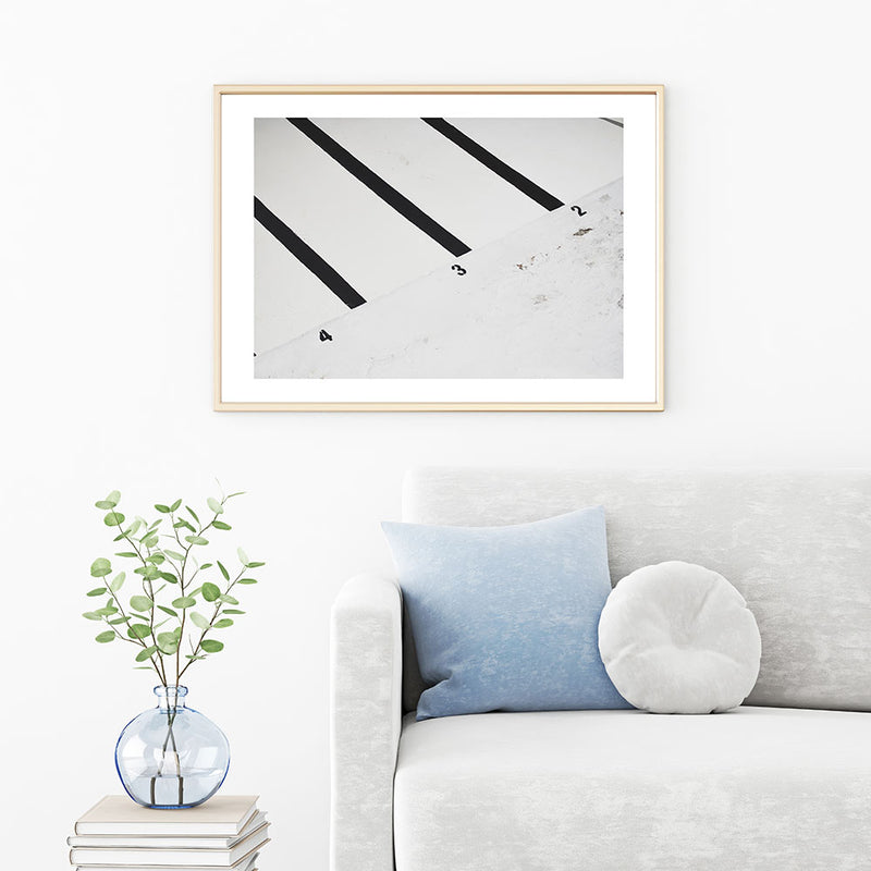 Icebergs Cleaning Day Art Print