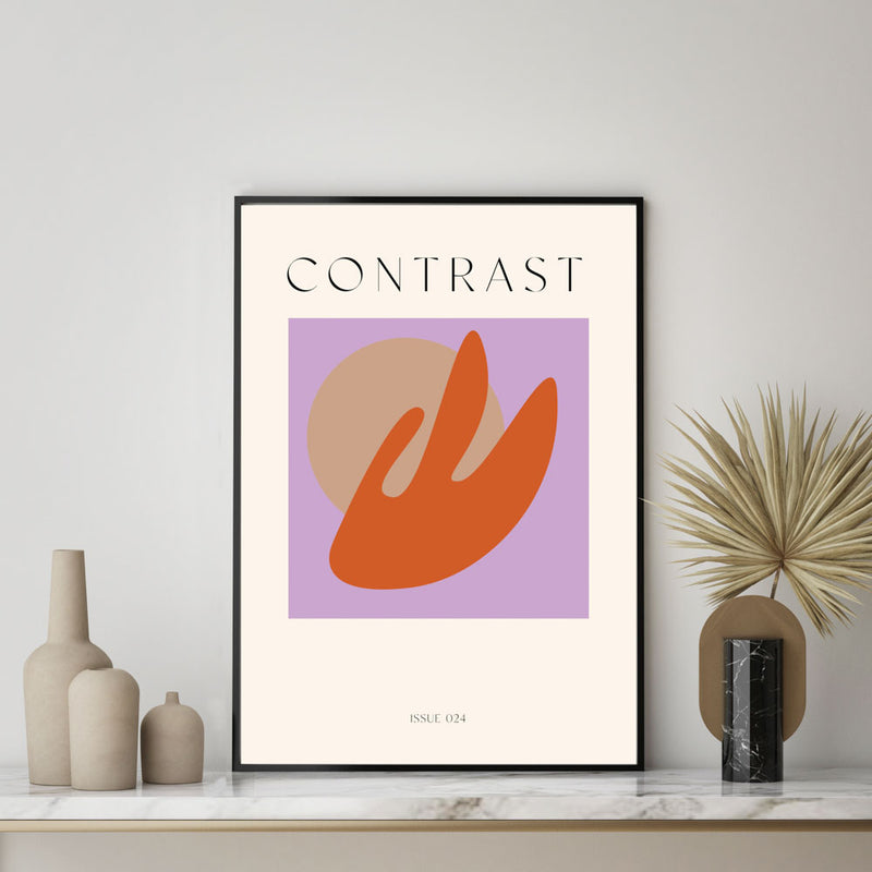 Contrast Issue 024 Art Print