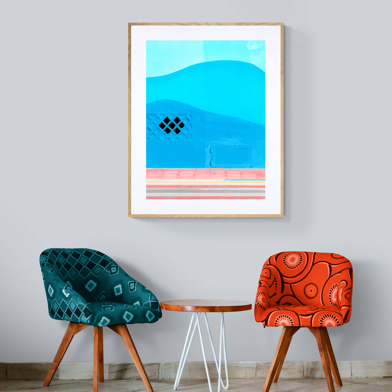 Abstract Colorful Summer Art Print
