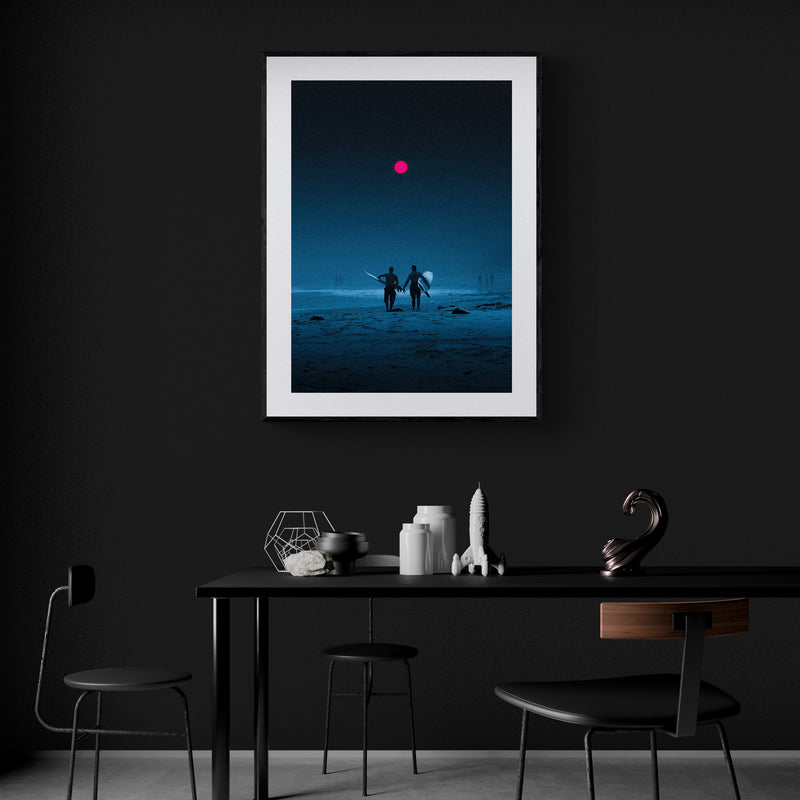 Caliginous Art Print