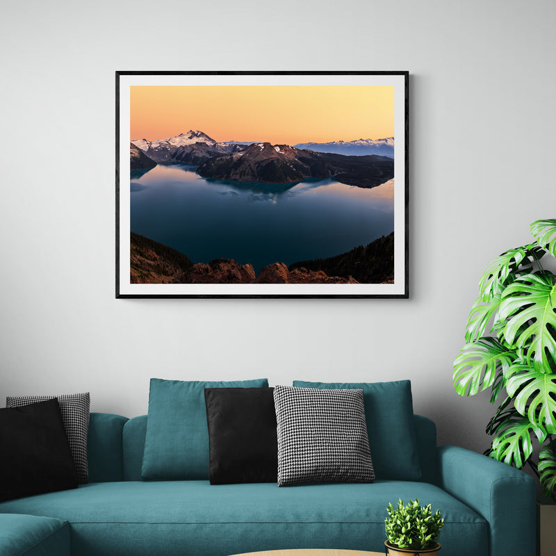 The Grand Garibaldi Lake Art Print