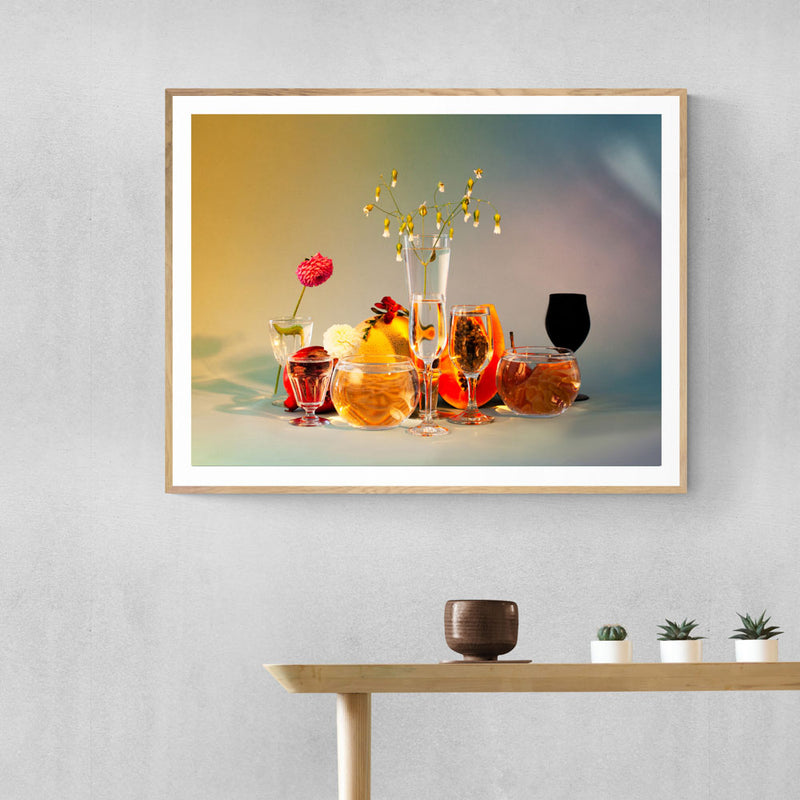Summer Refraction Art Print