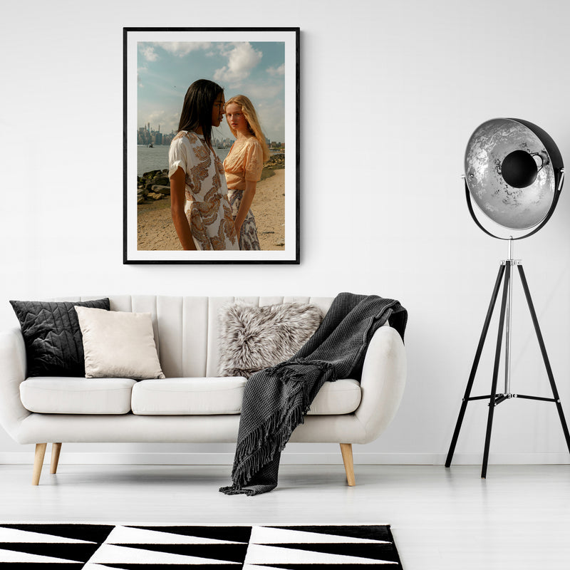 Savannah and Ritta II Art Print
