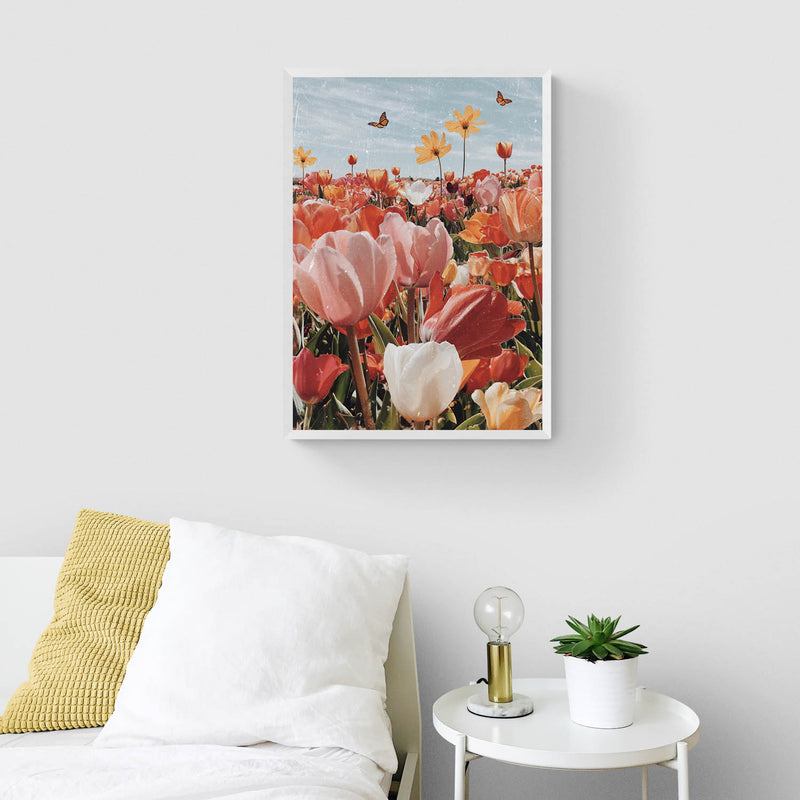 Tulip Season Art Print