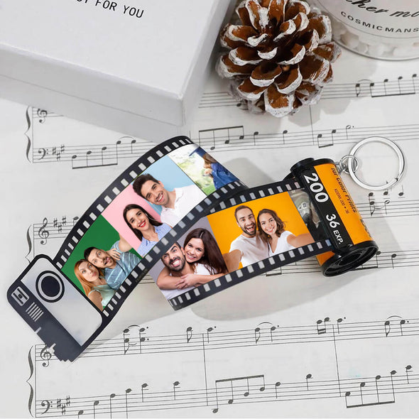 Custom Camera Roll Pictures Keychain Best Gift Idea