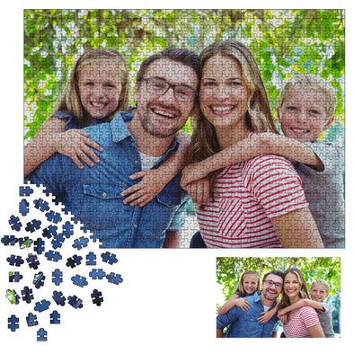Personalized Photo Jigsaw Puzzle Best Custom Gifts