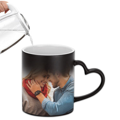 Custom Magic Mug Personalized Mug with Photo Gift for Mom