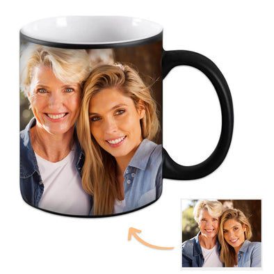 Custom Magic Mug Personalized Mug Photo Color Changing Gift for Mom