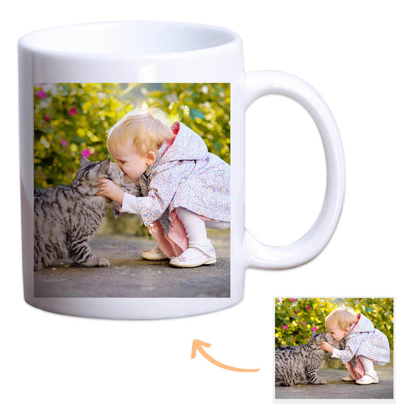 Father's Day Gift Custom Mug with Pictures Personalized Mug Best Gift Idea