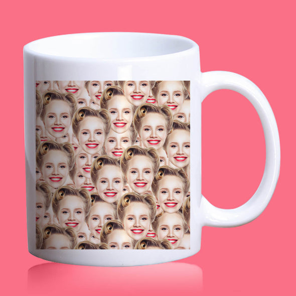 Custom Coffee Mug with Pictures Personalized Photo Mug