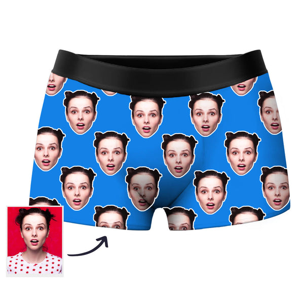 Custom Face Photo Boxer Shorts