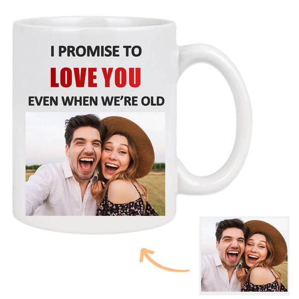 Custom Photo Mug Personalized Photo Mug Valentine's Gift for Lover