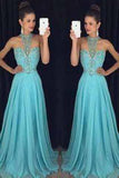 Charming Chiffon Beading Prom Dress Off the Shoulder Prom Dress Beauty Evening Dresses WK920