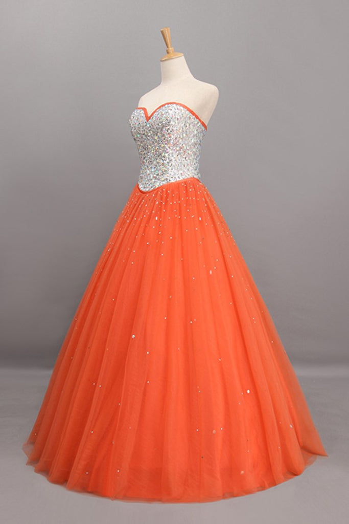 2019 Bicolor Quinceanera Dresses Sweetheart Ball Gown Floor-Length Beaded Bodice
