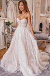 Charming Sweetheart Strapless Tulle Ivory Wedding Dresses Cheap Wedding Gowns W1082