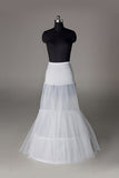 Women Nylon/Tulle Netting Floor Length 2 Tiers Petticoats P006