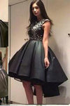 Cute Sparkly Black Prom Dress For Teens Homecoming Dress Sweet 16 Gowns WK149