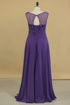 Mother Of The Bride Dresses V Neck Beaded Bodice Open Back Floor Length
