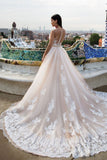 Lace wedding dresses Elegant modest wedding dresses WK245