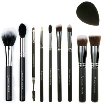 pro Series Eye Brush Set with Case