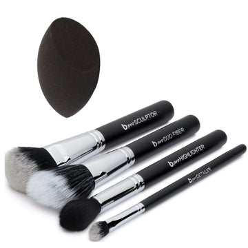 pro Contour & Highlighting Makeup Brush Set